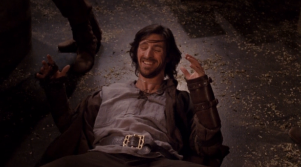 Gwaine (Eoin Macken) was often seen getting in trouble in the tavern in Merlin