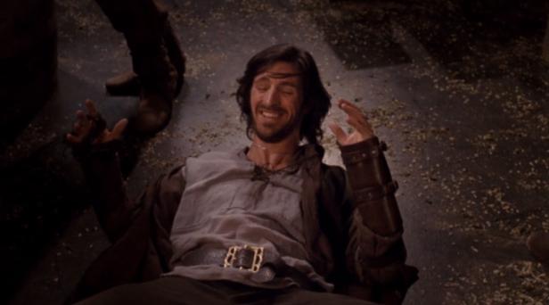 Gwaine (Eoin Macken) was often seen getting in trouble in the tavern in Merlin