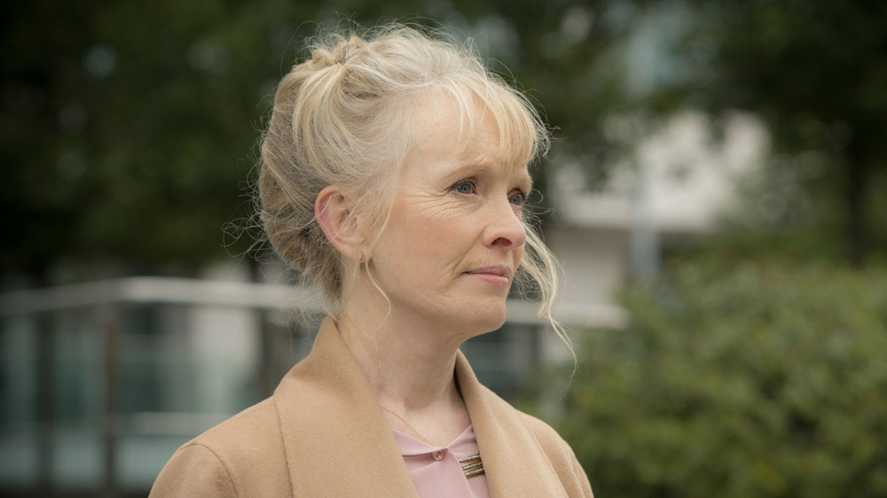 Programme Name: The Honourable Woman - TX: n/a - Episode: n/a (No. n/a) - Picture Shows: Angelica Hayden-Hoyle (LINDSAY DUNCAN)  Angelica Hayden-Hoyle (LINDSAY DUNCAN) - (C) Drama Republic - Photographer: Robert Viglasky