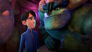 "Trollhunters: ""Guillermo del Toro is incredible to work with"""