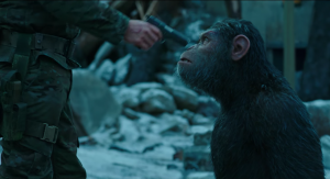 War For The Planet Of The Apes trailer goes on the offensive