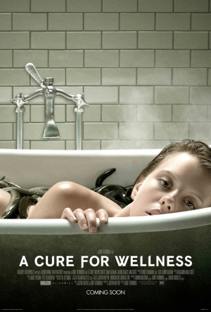 A Cure For Wellness poster for Dane DeHaan horror takes a creepy bath