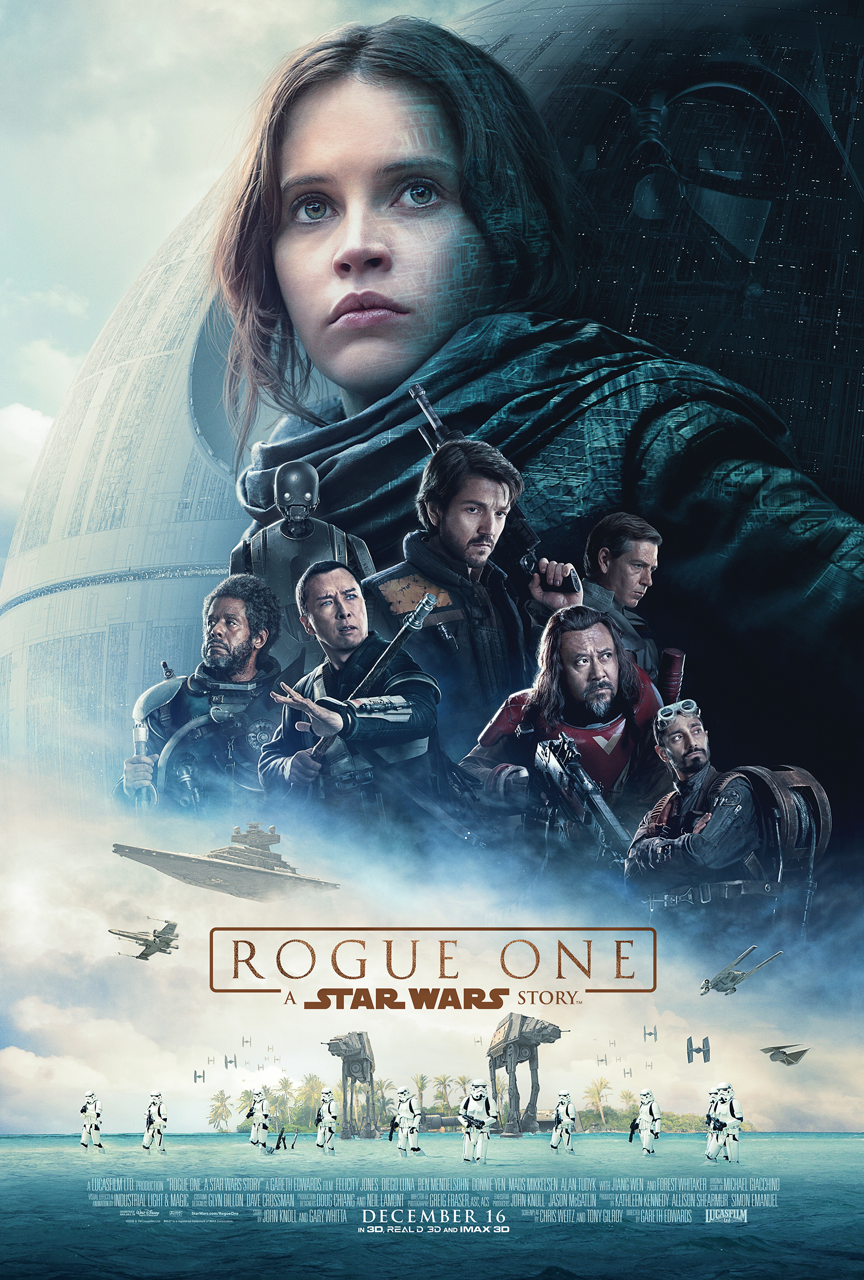 Rogue One: A Star Wars Story film review