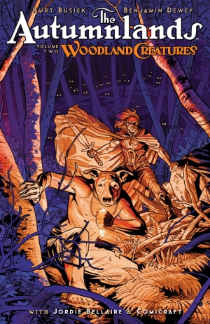 Autumnlands Volume 2: Woodland Creatures by Kurt Busiek graphic novel review