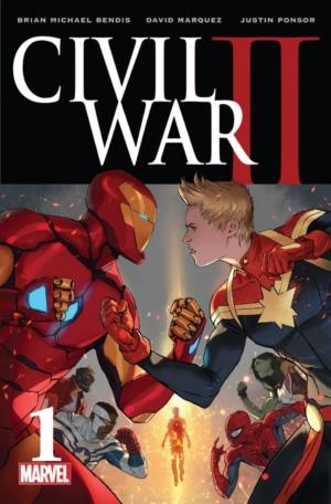 Civil War II by Brian Michael Bendis comic book review