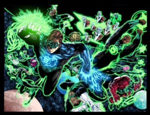 Green Lantern Corps adds Man Of Steel writing team