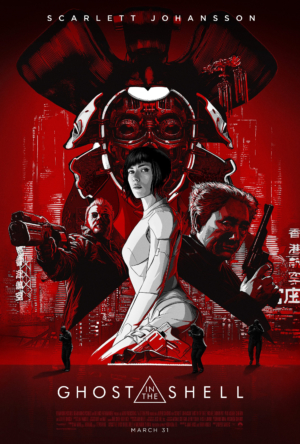 Ghost In The Shell new poster is quite lovely