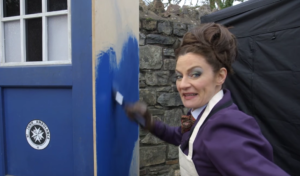 Doctor Who Series 10 set video gets a visit from the Mistress
