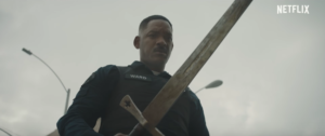 Bright first trailer: Will Smith, orcs, magic and cops
