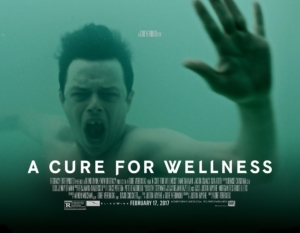 A Cure For Wellness new poster is having a terrible time