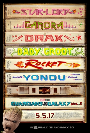 Guardians Of The Galaxy Vol. 2 new poster is the best thing