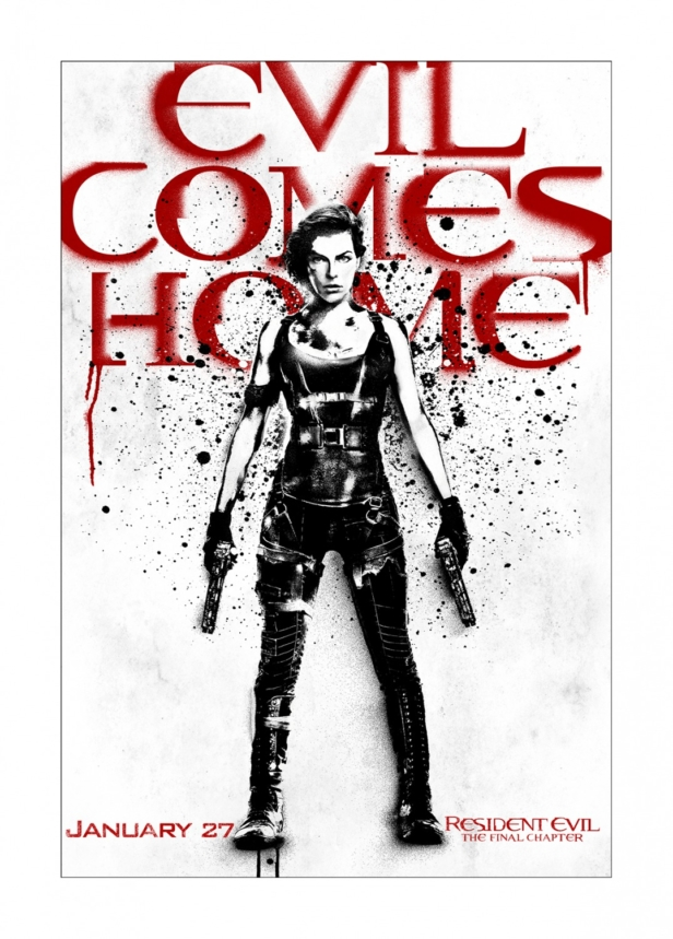 Resident Evil: The Final Chapter new art posters bring evil