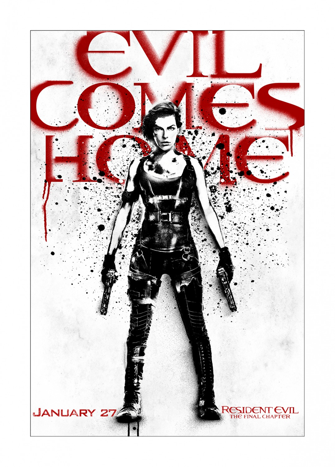 Resident Evil The Final Chapter New Art Posters Bring Evil Home