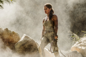 Tomb Raider reboot first look at Alicia Vikander as Lara Croft