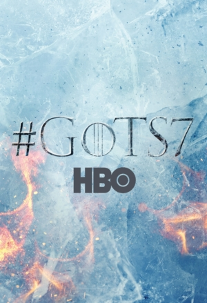 Game Of Thrones Season 7 poster puts ice against fire