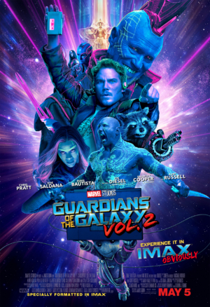 Guardians Of The Galaxy Vol. 2 IMAX poster brings the noise