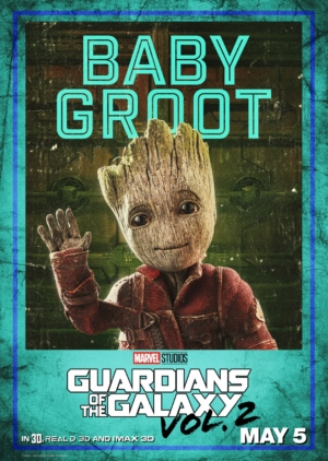 Guardians Of The Galaxy Vol. 2 new character posters are fierce