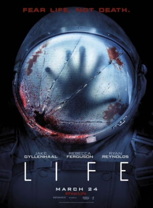 Life new poster is a lot more sinister than the others
