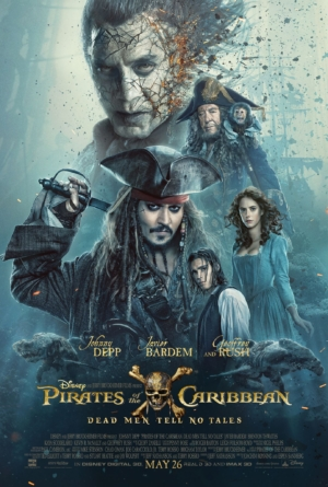 Pirates Of The Caribbean 5 new poster shows off Javier Bardem