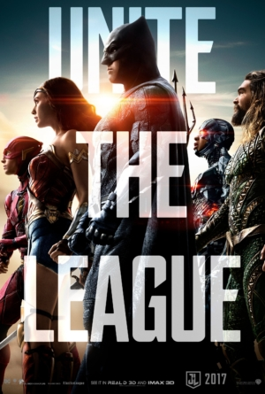Justice League new poster unites and wants to start a fight