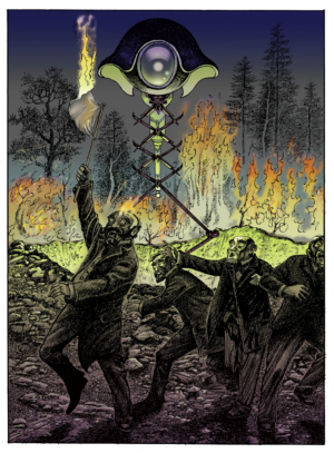 The Folio Society's The War Of The Worlds illustrations are beautiful
