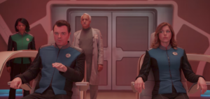 The Orville trailer for Seth MacFarlane's Star Trek spoof TV series