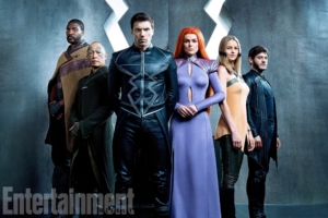 Inhumans first look at the cast of Marvel's new superhero series