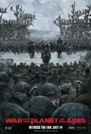 War For The Planet Of The Apes new poster witnesses the end