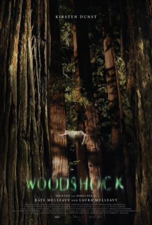 Woodshock poster for A24's Kirsten Dunst horror is creepy