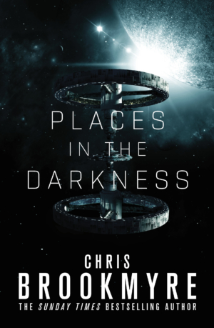 Places In The Darkness by Chris Brookmyre exclusive cover launch