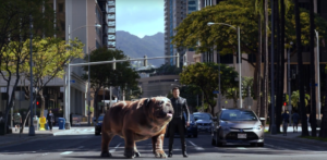 Marvel's Inhumans trailer heads to Earth with Lockjaw