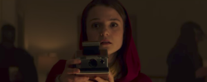 Polaroid trailer has a haunted camera and it will use it