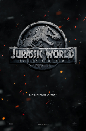 Jurassic World: Fallen Kingdom reveals first poster and new title