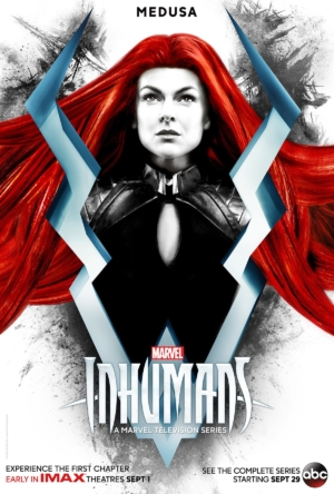 Inhumans new character posters meet the Royal Family
