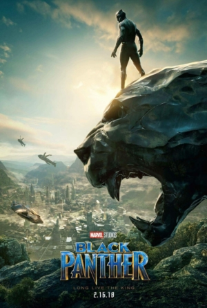 Black Panther new poster hail to the king