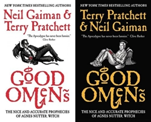 Good Omens TV series casts David Tennant and Michael Sheen