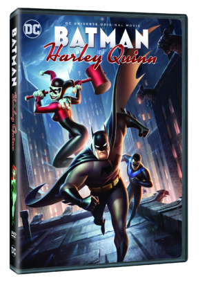 Win Batman & Harley Quinn on DVD, out on Blu-ray and DVD 28 August