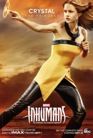 Inhumans new character posters measure up the players