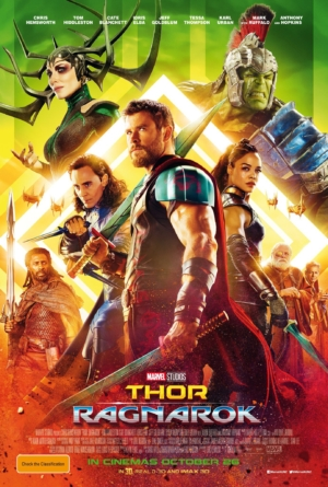 Thor: Ragnarok new posters are gorgeous and overly dramatic