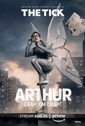 The Tick new character posters are making us indecently excited