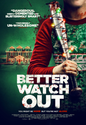 Better Watch Out new poster gets bloody for Christmas horror