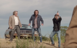 Supernatural Season 13 extended trailer comes up against it, again