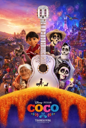 Coco new poster flits between the Land of the Living and the Dead