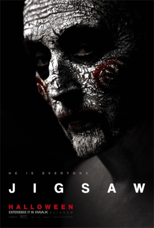 Jigsaw new character posters are everywhere and everything