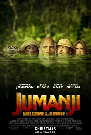 Jumanji: Welcome To The Jungle new poster is a bit ridiculous