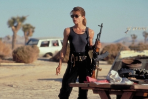 James Cameron's Terminator sequel brings Linda Hamilton back as Sarah Connor