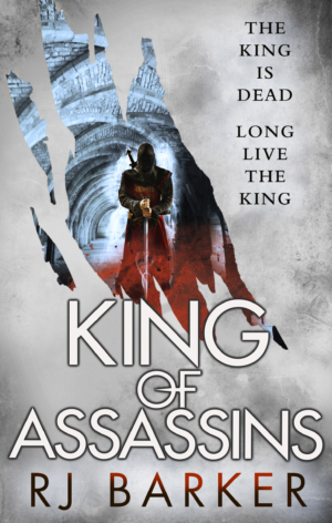 King Of Assassins by RJ Barker cover reveal