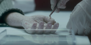 Replace body horror new trailer starts shedding its skin