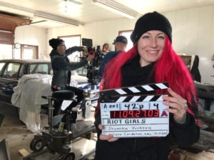 Jovanka Vuckovic's 1995 apocalypse sci-fi Riot Girls starts filming, sounds awesome