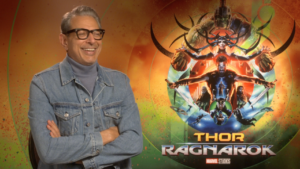 VIDEO: Thor: Ragnarok's Jeff Goldblum talks about the Grandmaster and sings a little